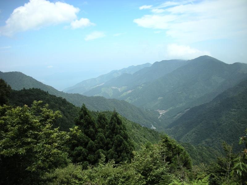 峠からの絶景