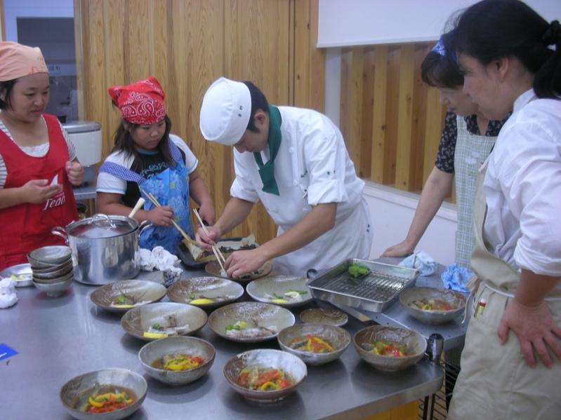 銚子川のアユが食材です!!