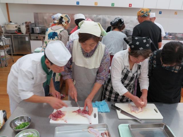 熊野地鶏ときのこ料理
