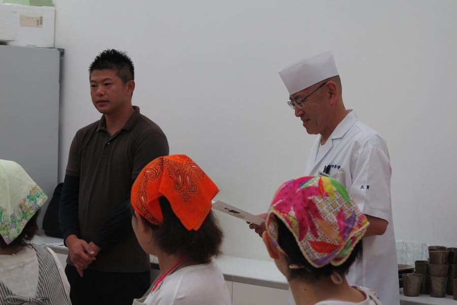 田中裕也さんと先生